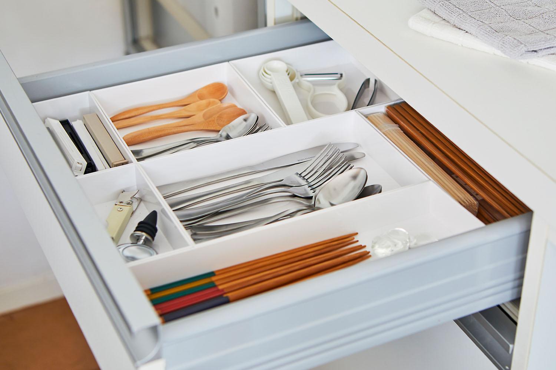 よく使うものは、取り出しやすく整理整頓。