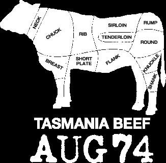 タスマニアビーフ(TASMANIA BEEF) AUG74