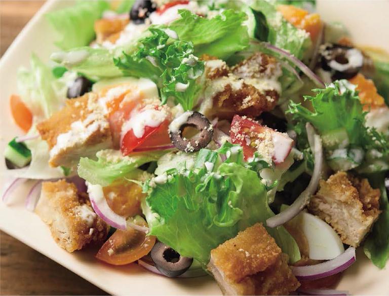 Deliチキ サラダ