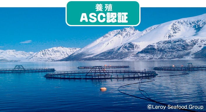 養殖 ASC認証 ©Leroy Seafood Group