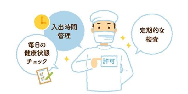 安心の食肉は、スタッフの健康管理から。