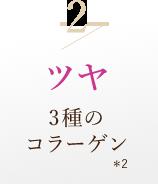 2/ツヤ3種のコラーゲン*2
