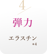 4/弾力エラスチン*4