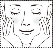 パッチをはがし、お肌に残った美容液をなじませたあと乳液やクリームでお肌を整えてください。