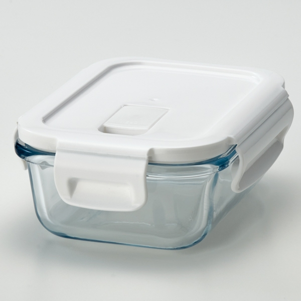 耐熱ガラス保存容器長方形
