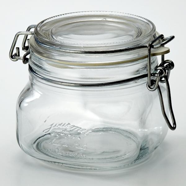 角型密閉保存ビン