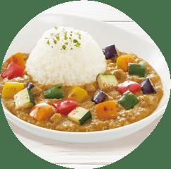 彩り野菜たっぷりカレー