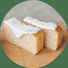 さわやかレモンのパウンドケーキ