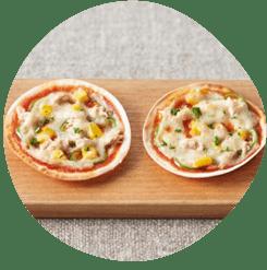 パリパリとろりんグラタンピザ