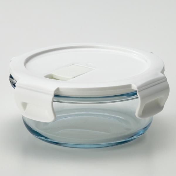 耐熱ガラス保存容器丸型