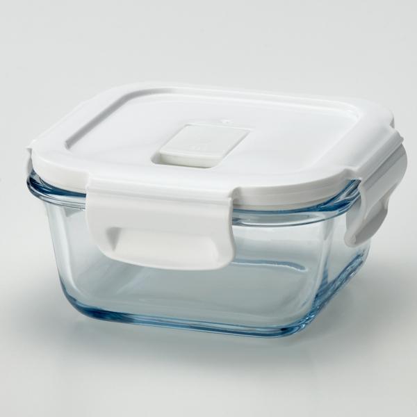 耐熱ガラス保存容器正方形