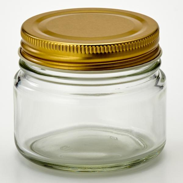 ガラス保存ビン