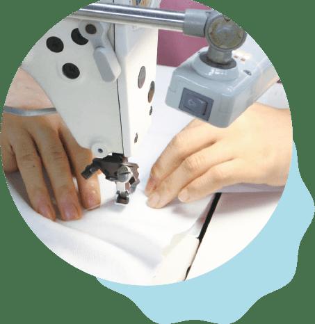 4. 縫い上げる