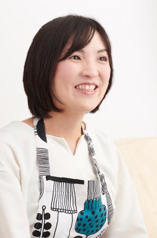 料理研究家 阪下千恵 写真