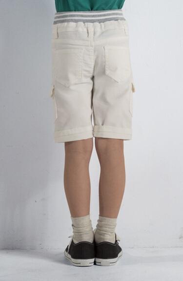 のびるっちツイル6分丈パンツ