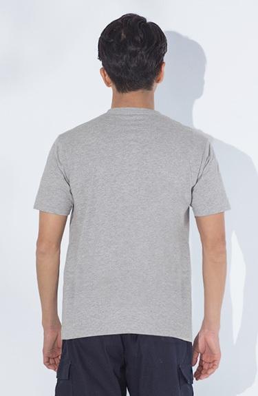 におわん抗菌 半袖無地クルーネックTシャツ