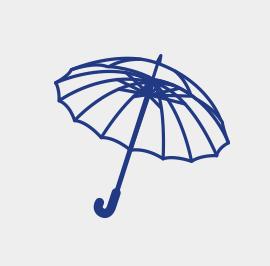 多骨 長傘
