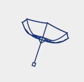 耐風骨 折傘