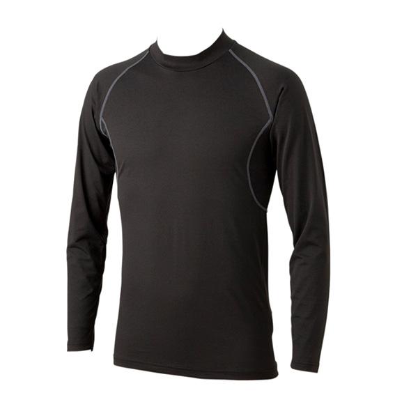 ソフトコンプレッション ハイネック長袖Tシャツ