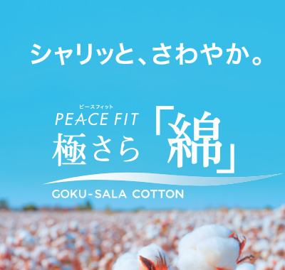 PEACE FIT ピースフィット 極さら「綿」