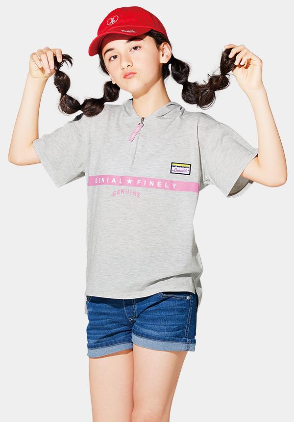 くーるっちフード付Tシャツ