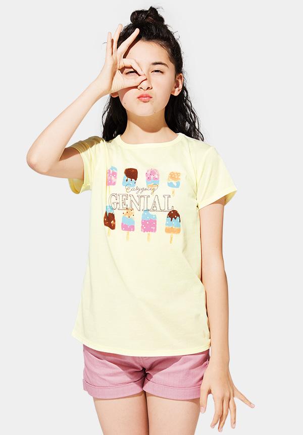 くーるっちアイスクリームプリントTシャツ