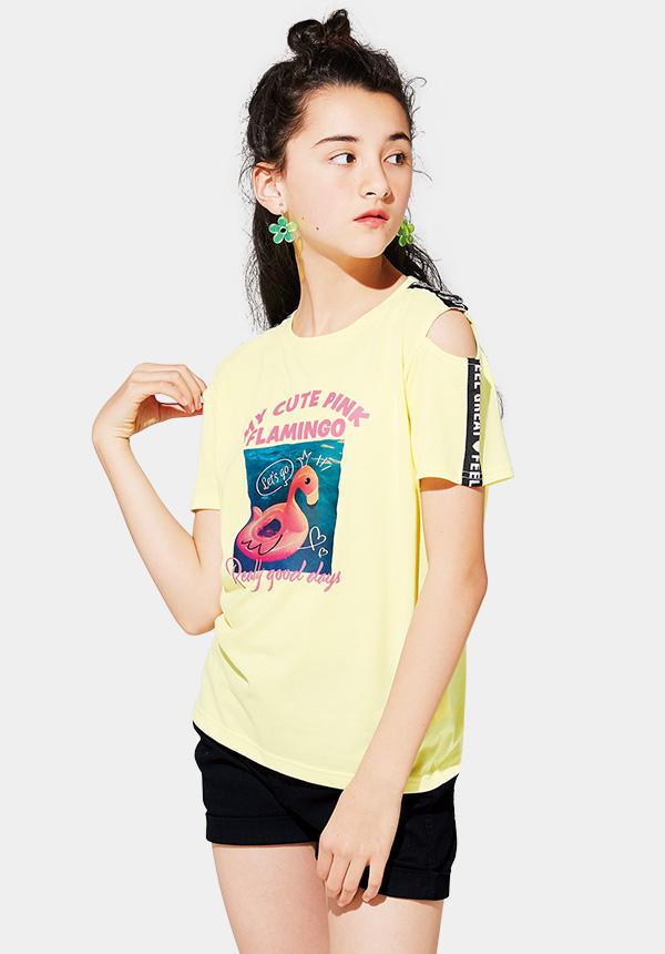 くーるっち肩テープ付Tシャツ