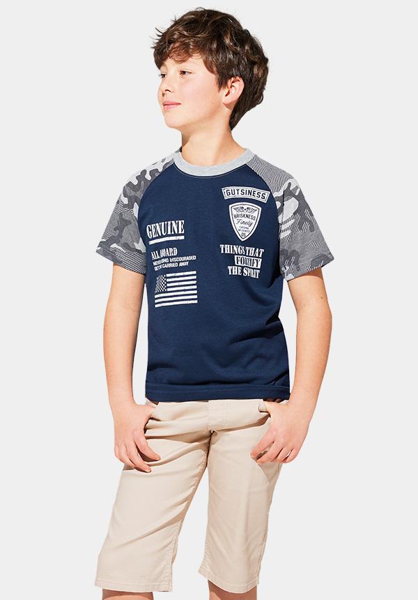くーるっちミリタリーラグランTシャツ