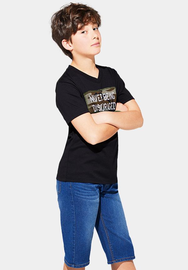 くーるっちミリタリーVネックTシャツ