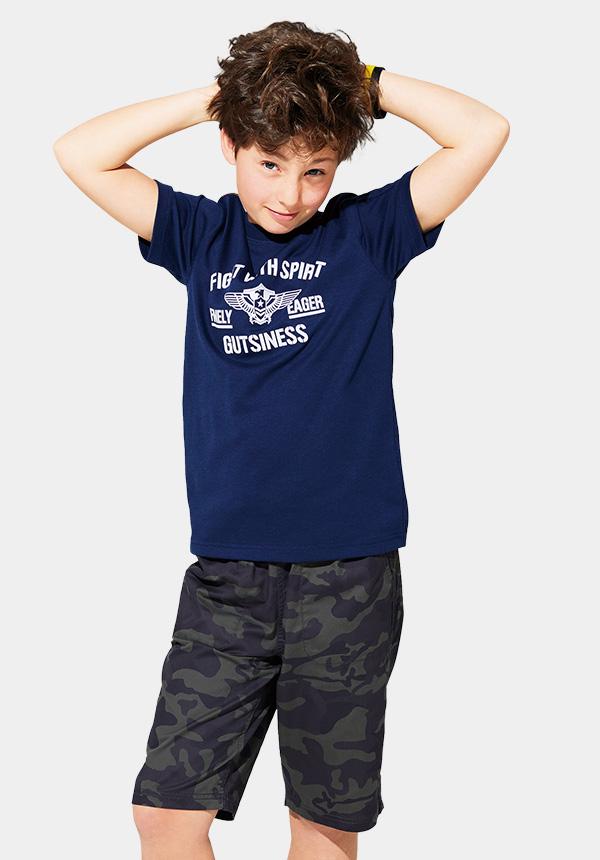 くーるっちミリタリー袖ポケTシャツ