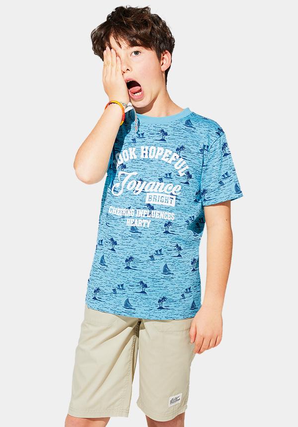 くーるっちサーフ総柄Tシャツ