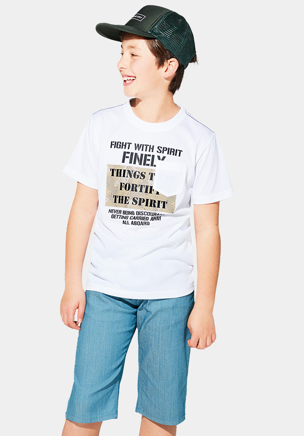 くーるっちミリタリー胸ポケTシャツ