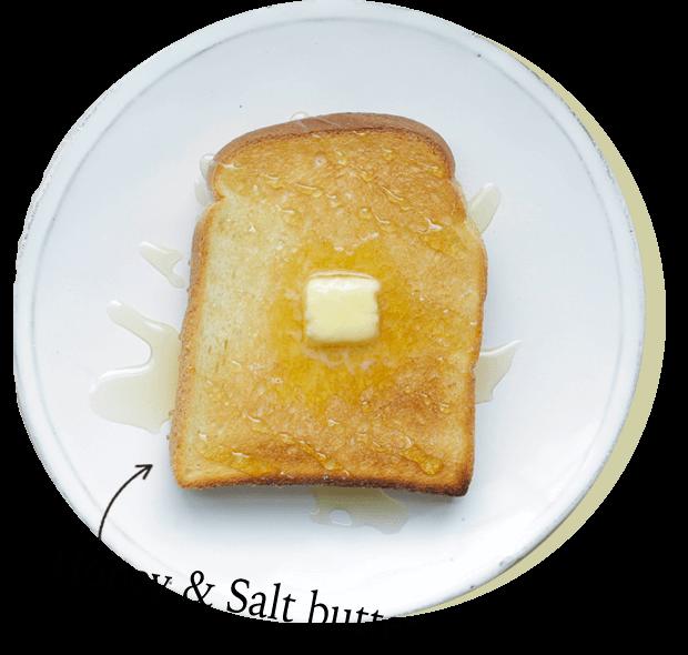 Honey & Salt butter