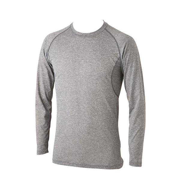 動きにフィットし軽量 長袖Tシャツ