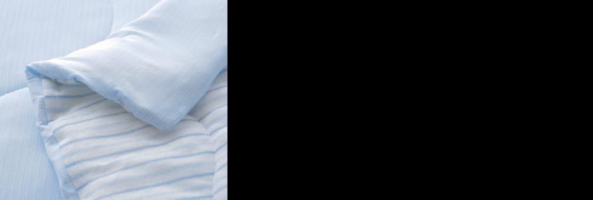 暖かいと思ったら、翌日急に寒くなったり。季節の変わり目は寝具選びが難しいですよね。そこでオススメなのがリバーシブルタイプ。接触冷感素材の面はひんやり冷たく、パイル面はやわらかな肌ざわりで心地いい。気温に合わせて使い分けでき、春から秋まで3シーズン活躍します。便利なリバーシブルタイプで良い眠りをはじめましょう。